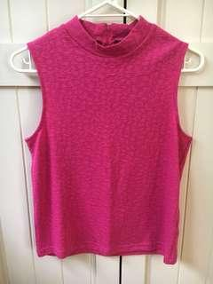 TopShop - Fuschia top