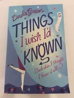 Linda Green : Things I Wish I'd Known