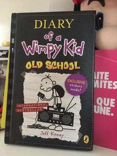 Diary of a wimpy kids book