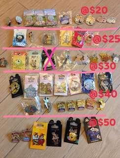 🈹清pins Disney hkdisneyland 迪士尼 襟章 徽章 pins