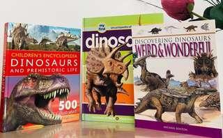 🚚 ‼️Dinosaurs Children's Encyclopedia Books Bundle $10