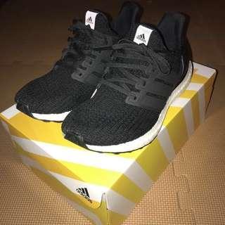 Adidas ultra boost 4.0 core black us9 27cm Yeezy nmd