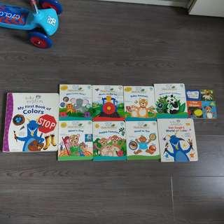 Preowned series of baby Einstein board books
