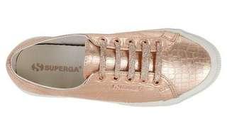SUPERGA SNEAKERS Cotmet Embossed Coco rose gold (pink)