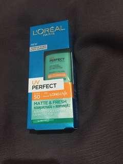 Sunscreen Matte & Fresh Loreal