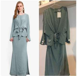 Lubna Front Tied Knot Kurung