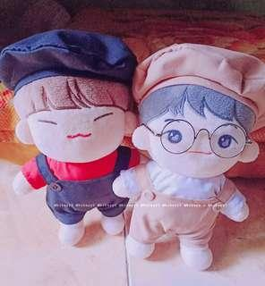 🚚 [CLOSED] - KPOP 20CM DOLL CLOTHES