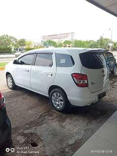 Chevrolet spin LT Diesel manual 2013
