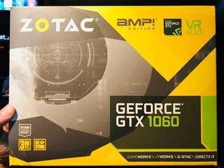 Zotac gtx 1060 Amp! edition 3gb
