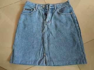 Highwaist Maong Skirt