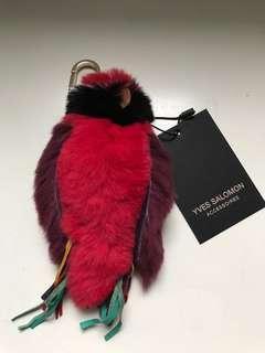 YVES SALOMON Fur Keyring 鑰匙扣