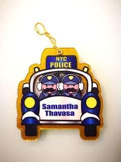 Samantha Thavasa Policemen Mirror Bag Charm