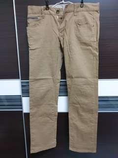 🚚 【降價】LAKING-韓版卡其窄版休閒長褲-男款