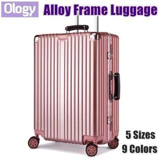 🚚 Travel Aluminum Alloy Frame Luggage Bag Suitcase TSA Lock