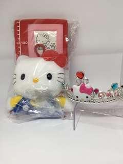 hello kitty pic frame with free headband
