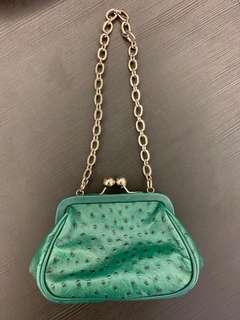 Furla Vintage mini purse leather authentic