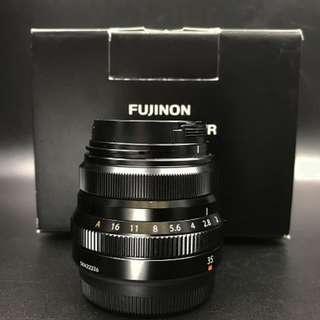 Fujifilm XF35mm f/2 R WR