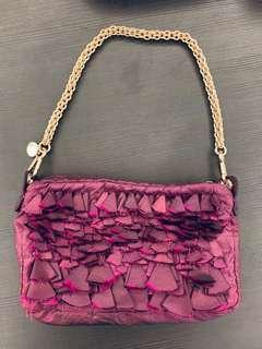 Stella McCartney ruffle bag with chain