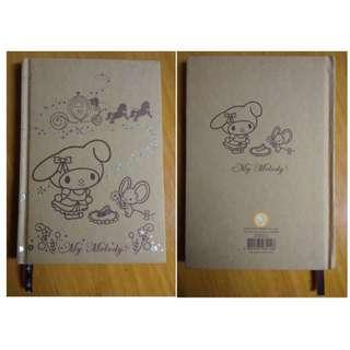 My Melody Sanrio 日記簿 2005年 記事簿 Diary Book NoteBook