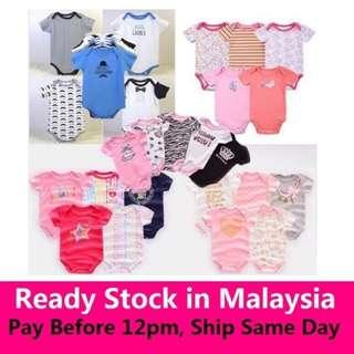 ROMPER BABY SET boy/girl 5pcs RM35 sahaja