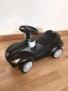Mercedes toddler black toy push car