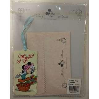 米奇 米妮 迪士尼 Disney Micky Minnie -- 信封信紙套裝 (Envelope, Notepaper, Letter)