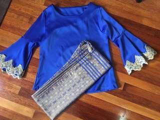 Baju Kurung Moden Songket