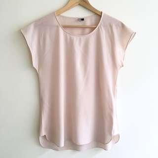Elk Pale Pink Boxy Cut Top