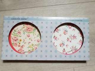 🚚 Ashlyn Anne ceramic coaster set