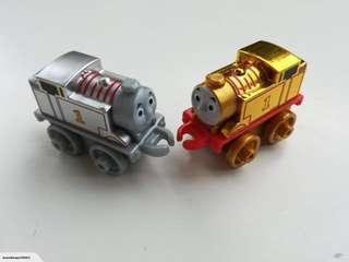 Thomas Minis train golden & platinum Thomas