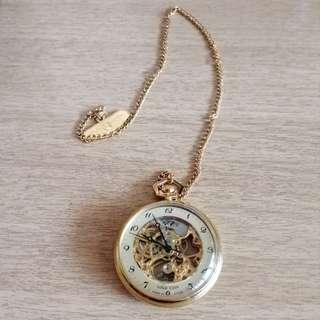 🚚 Mechanical Pocket Watch Shanghai Stop Watch Factory