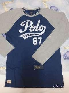 🚚 Polo ralph lauren 棉質薄長袖上衣