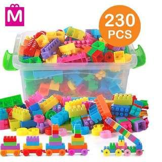 SUPER SAVE Building Blocks 230 pieses