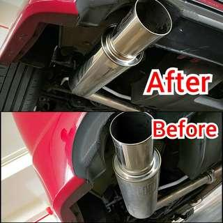 Professional Exhaust Polishing/Restoration for cars and bikes!