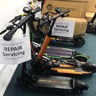 Repair Escooter Electric Scooter