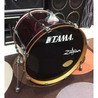 Tama Superstar Bass Drum size 22inch