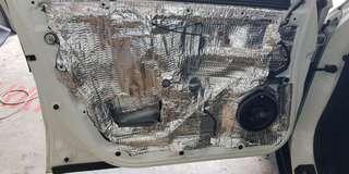 Honda Vezel 2 Layer Door Soundproofing