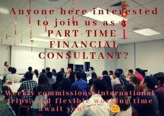 Financial Consultant (Part time / Full time)