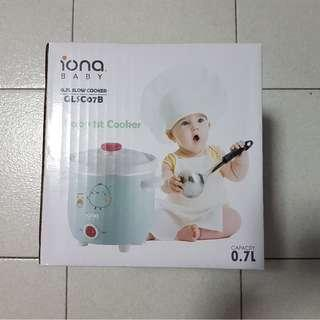 Brand New IONA Slow Cooker for Baby Food / Desserts (0.7L)