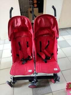 Twin Stroller sweet cherry