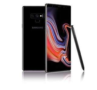 Samsung Note 9 with warranty