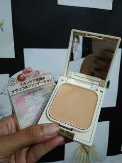Canmake Blessed Natural Foundation Bedak Original 02