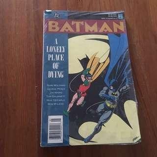 🚚 Batman a lonely place of dying comic
