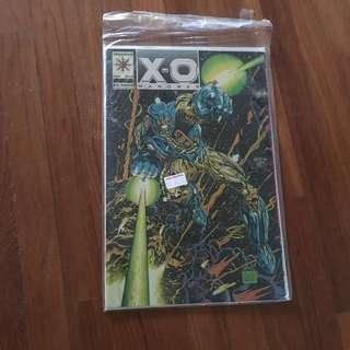 🚚 X-O manowar comic valiant comic