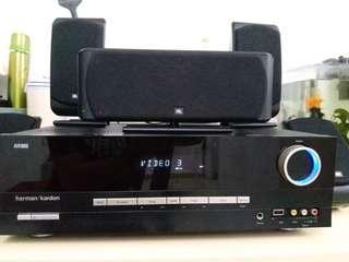 JBL Harman Kardon  AVR133 5.1 HiFi  Surround Sound with Subwoofer