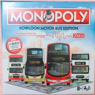 限量版 九巴大富翁 Kowloon Motor Bus Edition KMB MONOPOLY