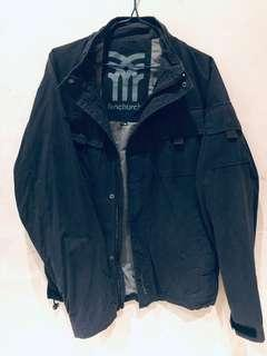 Fenchurch black military style jacket 男裝中褸
