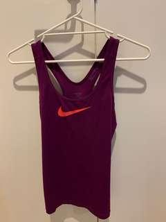 Nike sports top