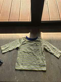 NEW old navy coret top yellow