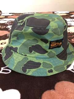 069191ac5bd SSUR PLUS Duck Camo Bucket Hat 漁夫帽